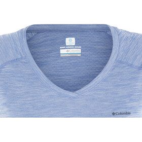 Columbia Zero Rules SS Shirt Women medieval heather